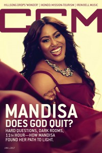 Cover of CCM Digital, 1 Jun 2017, featuring Mandisa Lynn Hundley