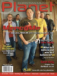 Cover of Christian Music Planet, Mar / Apr 2006 v. 5, i. 2, featuring MercyMe