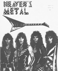Heaven's Metal, May 1986 v. 1, i. 6
