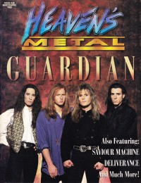 Cover of Heaven's Metal, Mar / Apr 1993 #40, featuring Guardian