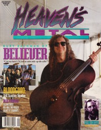 Cover of Heaven's Metal, Jul / Aug 1993 #42, featuring Believer