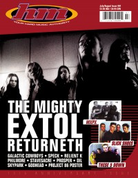Cover of HM, Jul / Aug 2000 #84, featuring Extol