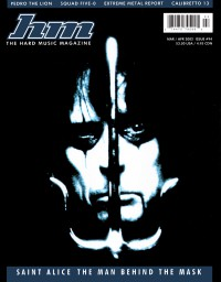 Cover of HM, Mar / Apr 2002 #94, featuring Alice Cooper