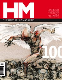 Cover of HM, Mar / Apr 2003 #100, featuring artwork by Derek Hess