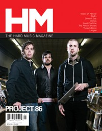 Cover of HM, Jul / Aug 2007 #126, featuring Project 86