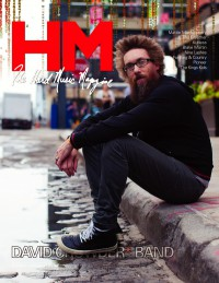 Cover of HM, Feb 2012 #153, featuring David Crowder Band (David Crowder)