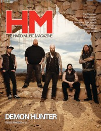 Cover of HM, Apr 2012 #155, featuring Demon Hunter