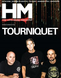 Cover of HM, Sep 2012 #159, featuring Tourniquet