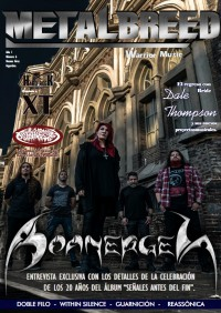 Cover of Metalbreed, May 2018 v. 1, i. 6, featuring Boanerges