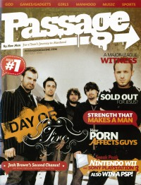 Cover of Passage, Sep / Oct 2006 #1, featuring Day of Fire
