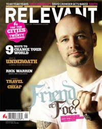 Cover of Relevant, May / Jun 2006 #20, featuring Derek Webb