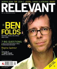 Cover for January 2007, featuring Ben Folds