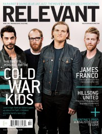 Cover of Relevant, Jan / Feb 2011 #49, featuring Cold War Kids