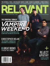Cover of Relevant, Jul / Aug 2013 #64, featuring Vampire Weekend
