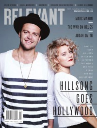 Cover of Relevant, May / Jun 2015 #75, featuring Hillsong United