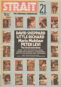 Cover for August 1985