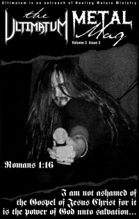 Cover of The Ultimatum Metal Mag, Fall 1995 v. 3, i. 3